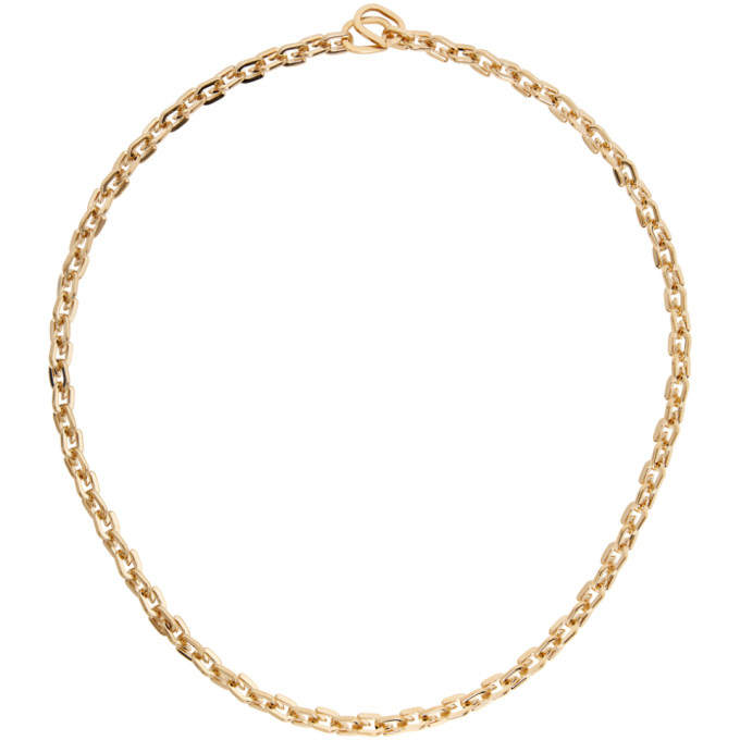 Givenchy GIVENCHY GOLD G LINK NECKLACE