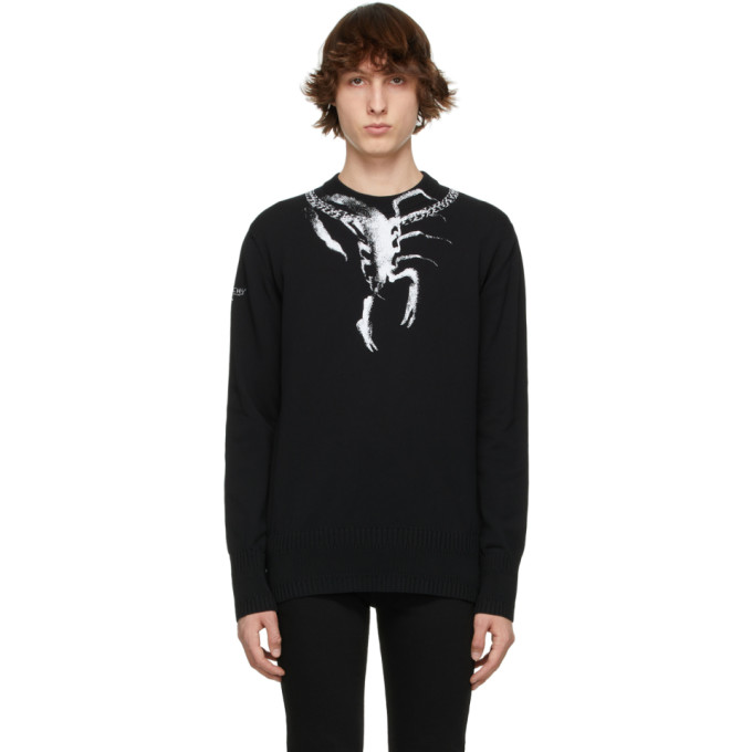 Givenchy GIVENCHY BLACK SCORPIO PRINT SWEATER