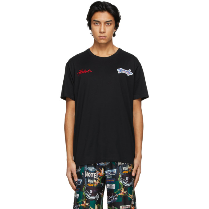 Givenchy Black Road Trip Patches T-Shirt