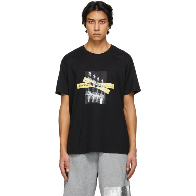 Givenchy Black House and Tapes T-Shirt