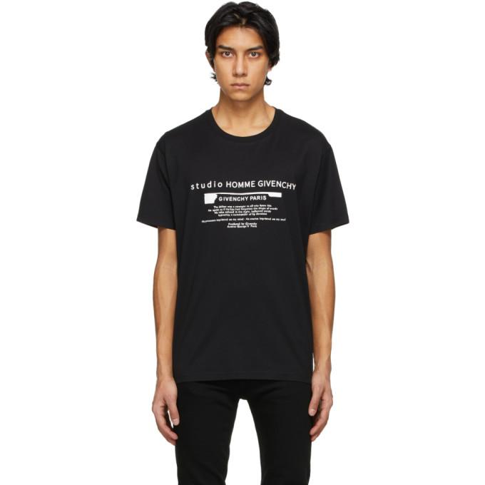 Givenchy Black Studio T-Shirt