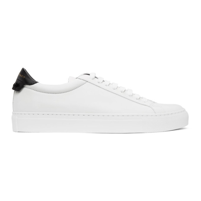 Givenchy GIVENCHY WHITE AND BLACK URBAN STREET SNEAKERS