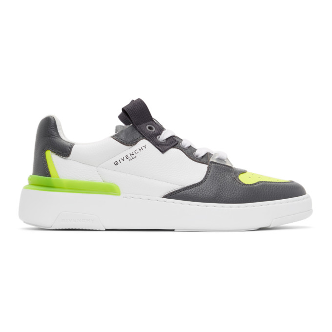 Givenchy GIVENCHY GREY WING LOW SNEAKERS