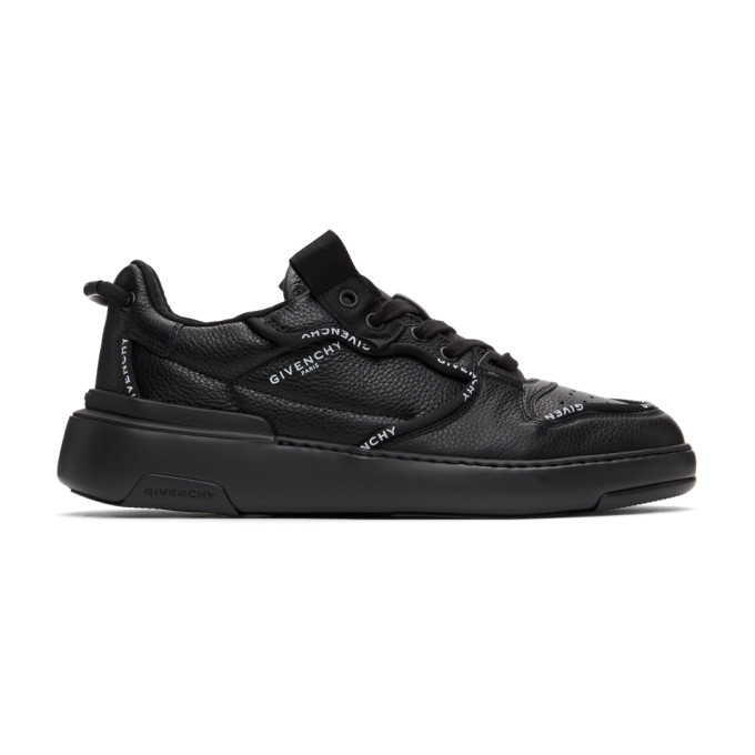Givenchy GIVENCHY BLACK WING LOW SNEAKERS