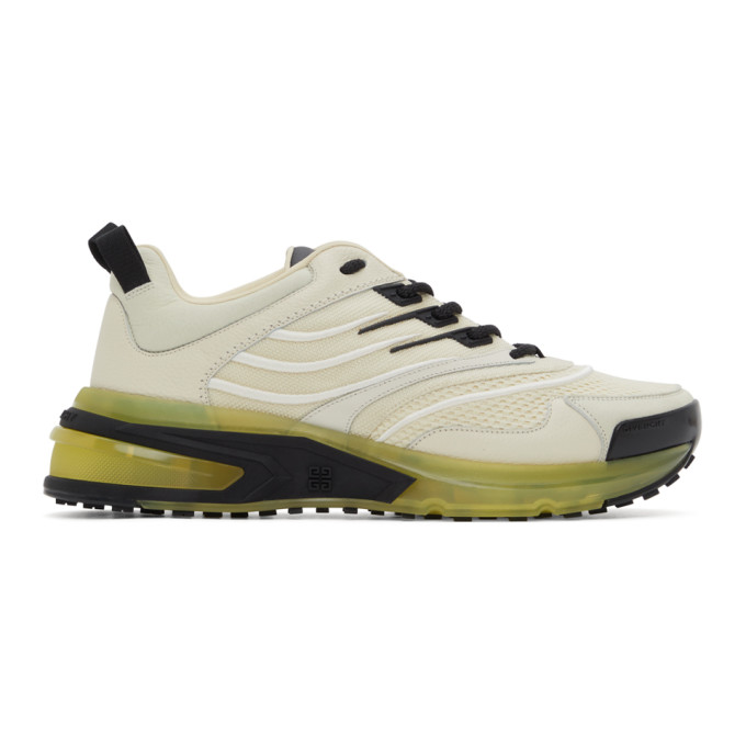 Givenchy Leathers GIVENCHY OFF-WHITE GIV 1 SNEAKERS