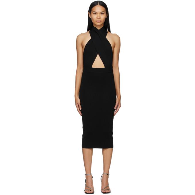 Gauge81 Dresses GAUGE81 BLACK SEVILLA MID-LENGTH DRESS