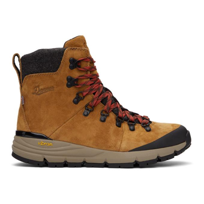 Danner 黄褐色 Arctic 600 拉链踝靴