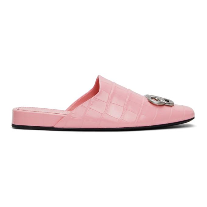 Balenciaga Shoes BALENCIAGA PINK COSY BB MULES