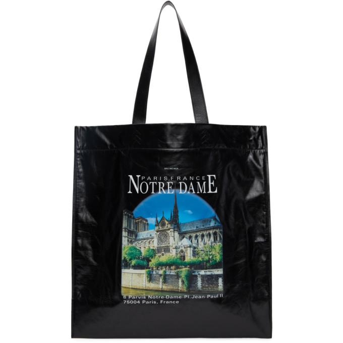 Balenciaga Shoulder bags BALENCIAGA BLACK MEDIUM NOTRE DAME SHOPPER TOTE