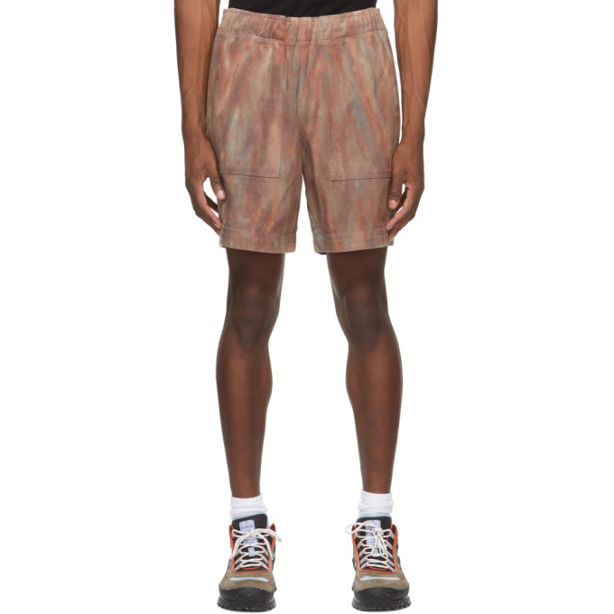Stussy Cottons STUSSY RED DYED EASY SHORTS