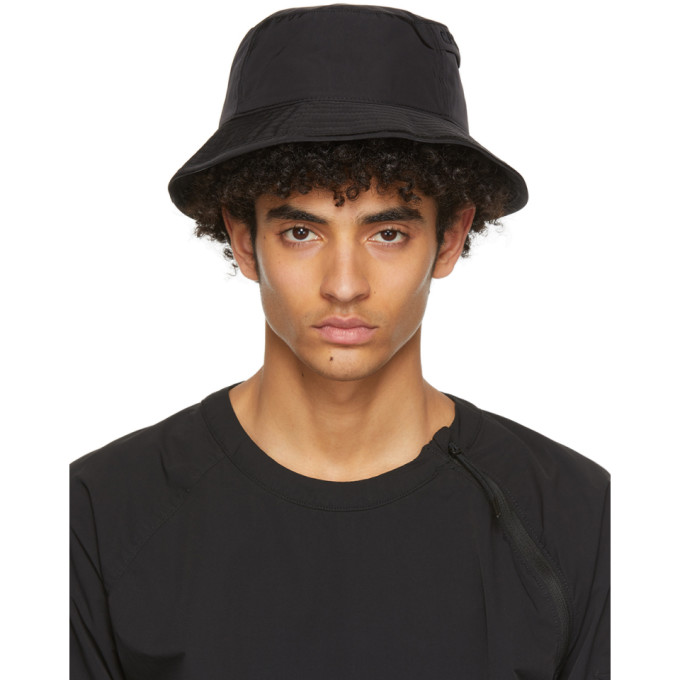 C.p. Company C.P. COMPANY BLACK CHROME GARMENT-DYED BUCKET HAT
