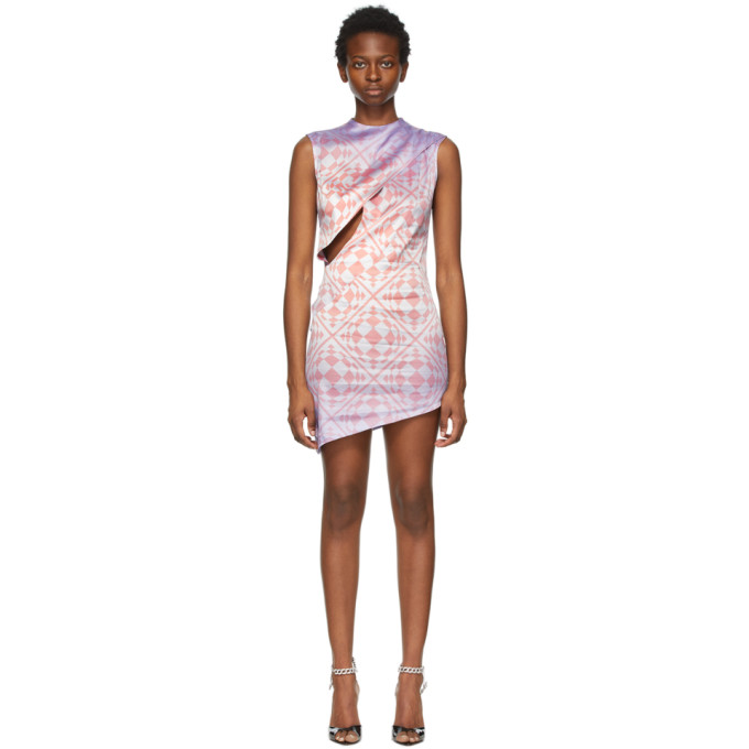 Maisie Wilen MAISIE WILEN PURPLE CAT EYE DRESS
