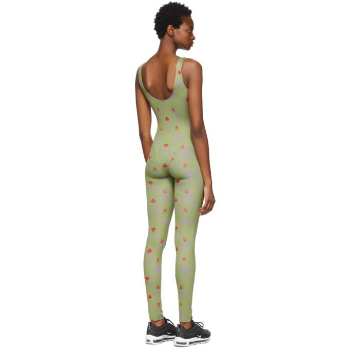 MAISIE WILEN Cottons MAISIE WILEN GREEN REVENGE BODY JUMPSUIT