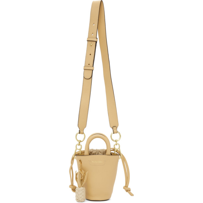 See By Chloé SEE BY CHLOE BEIGE SMALL CECILIA TOTE