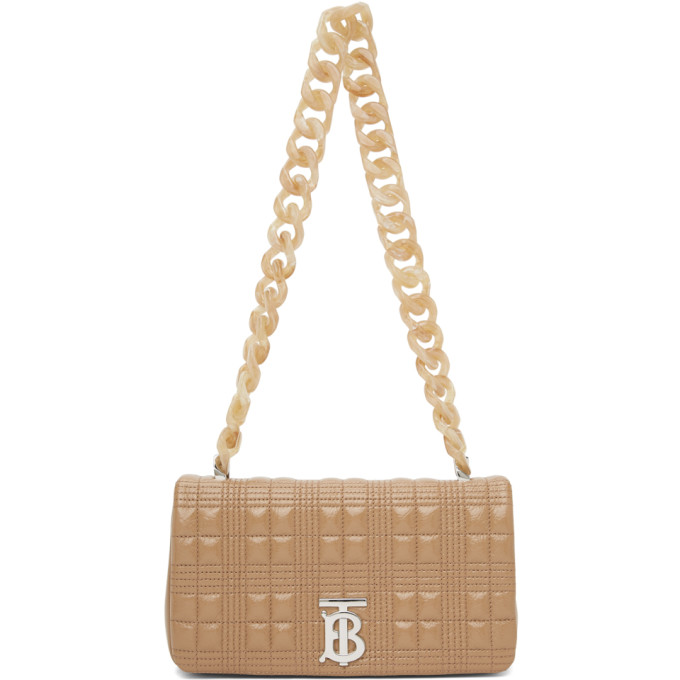 Burberry Bags BURBERRY BEIGE SMALL LOLA BAG