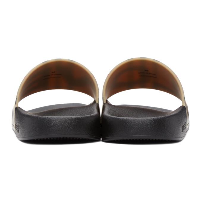 BURBERRY Shoes BURBERRY BEIGE VINTAGE CHECK LOVE FURLEY SLIDES