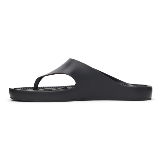 KENZO Flip flops KENZO BLACK K-BEACH FLIP FLOPS
