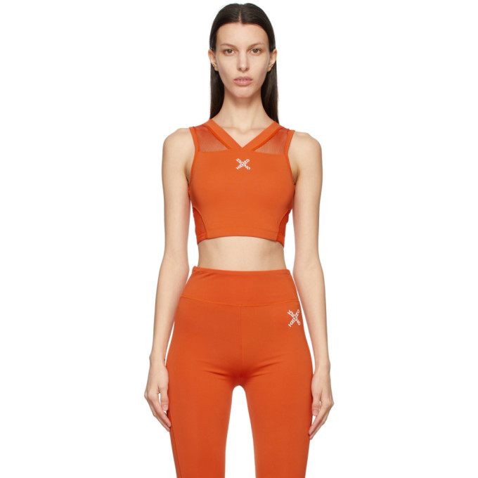 Kenzo KENZO ORANGE LOGO X SPORTS BRA