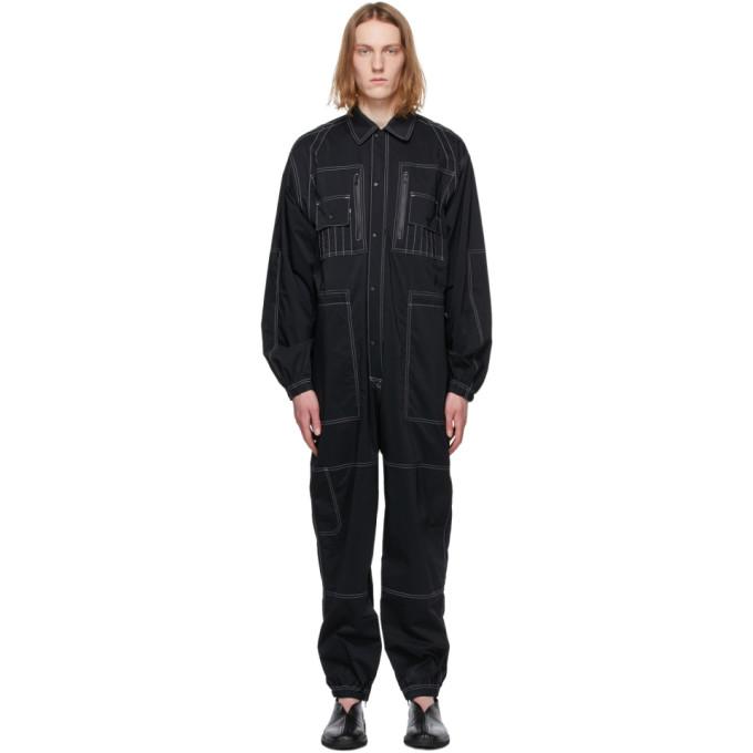 Sasquatchfabrix. ブラック All-In-One ジャンプスーツ