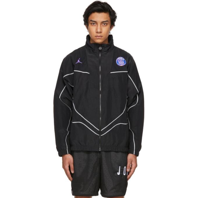 Nike Jackets NIKE JORDAN BLACK PARIS SAINT-GERMAIN EDITION ANTHEM JACKET