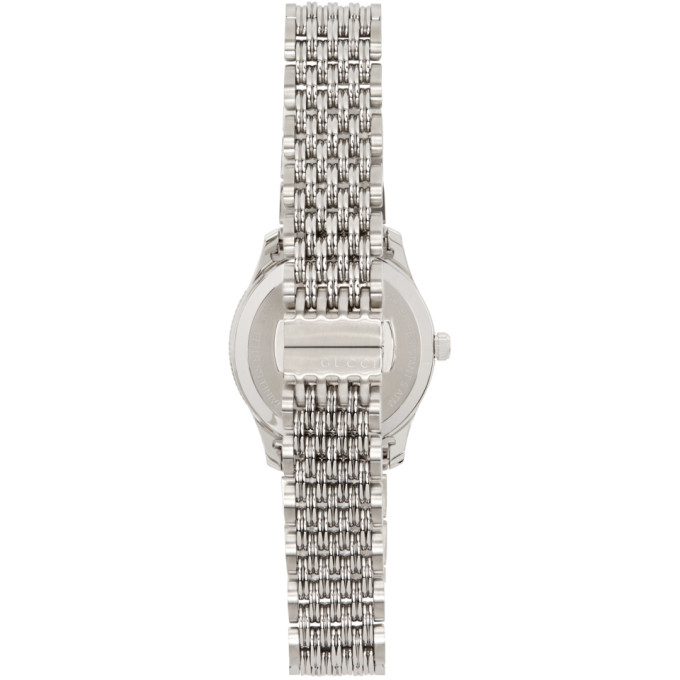 GUCCI Watches GUCCI SILVER 29MM G-TIMELESS BEE WATCH