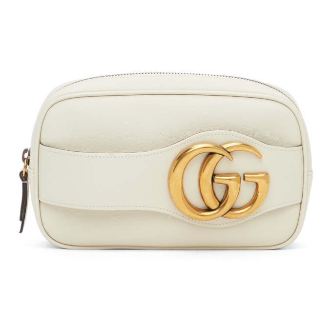 Gucci Off-White Double G Phone Pouch