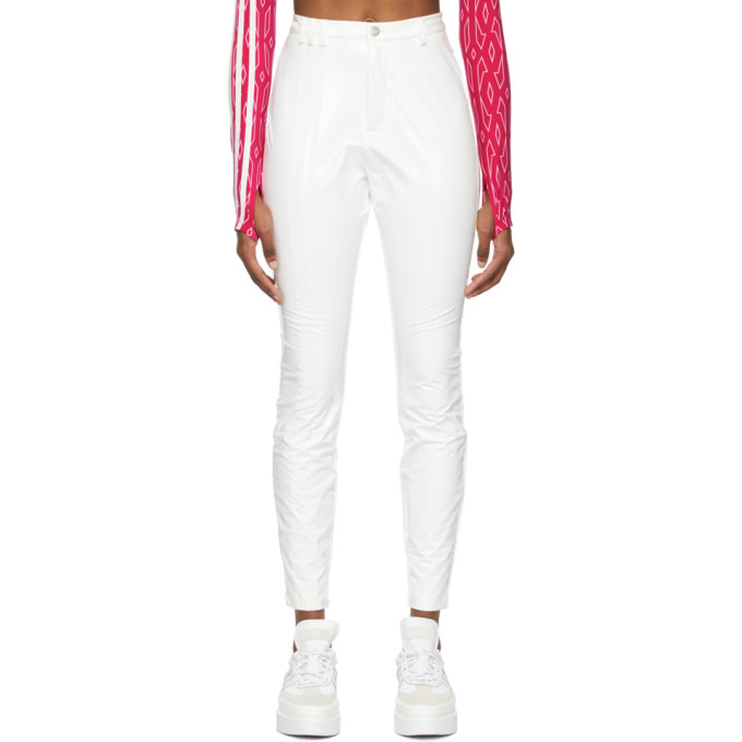 Adidas X Ivy Park ADIDAS X IVY PARK WHITE LATEX TROUSERS