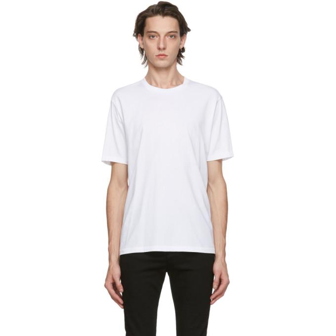 Frame 白色 Perfect 比马棉 T 恤