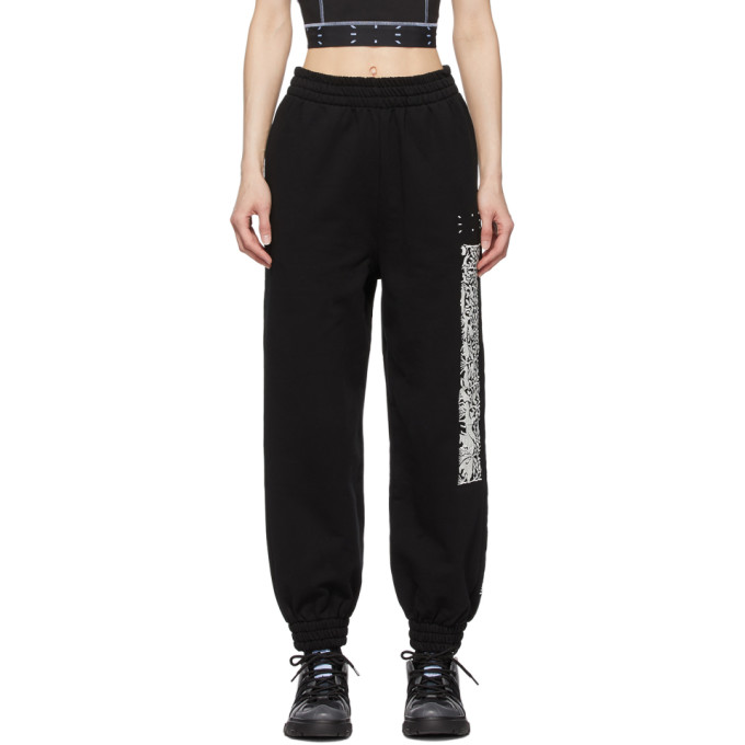 Mcq By Alexander Mcqueen MCQ BLACK WALK IN LIFE LOUNGE PANTS