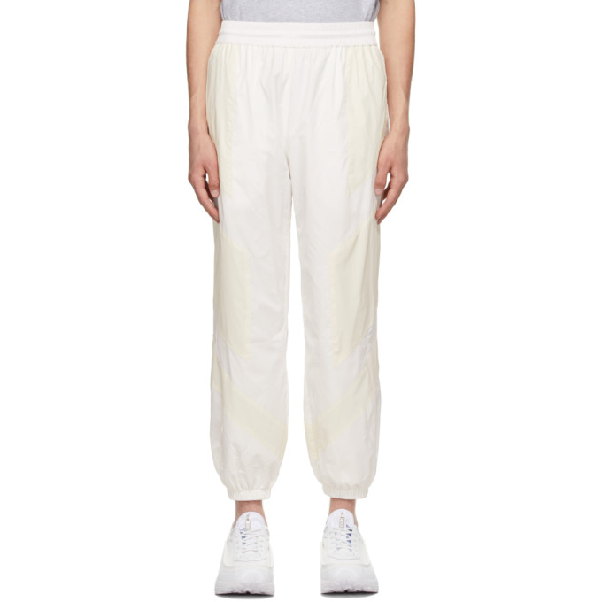 Mcq By Alexander Mcqueen MCQ OFF-WHITE GLOW-IN-THE-DARK TRACK PANTS