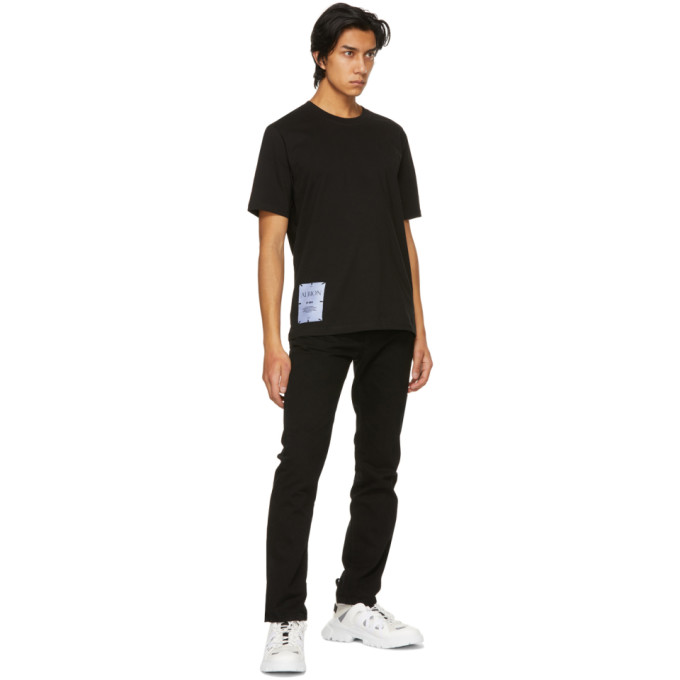 MCQ BY ALEXANDER MCQUEEN Cottons MCQ BLACK REGULAR T-SHIRT