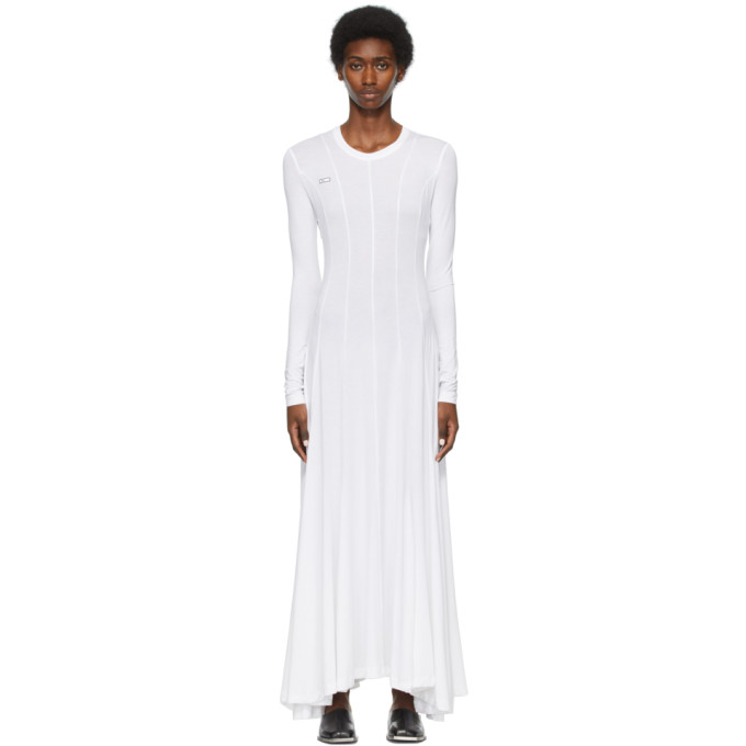 Peter Do Women's Squid Cotton Jersey Maxi Dress In White
