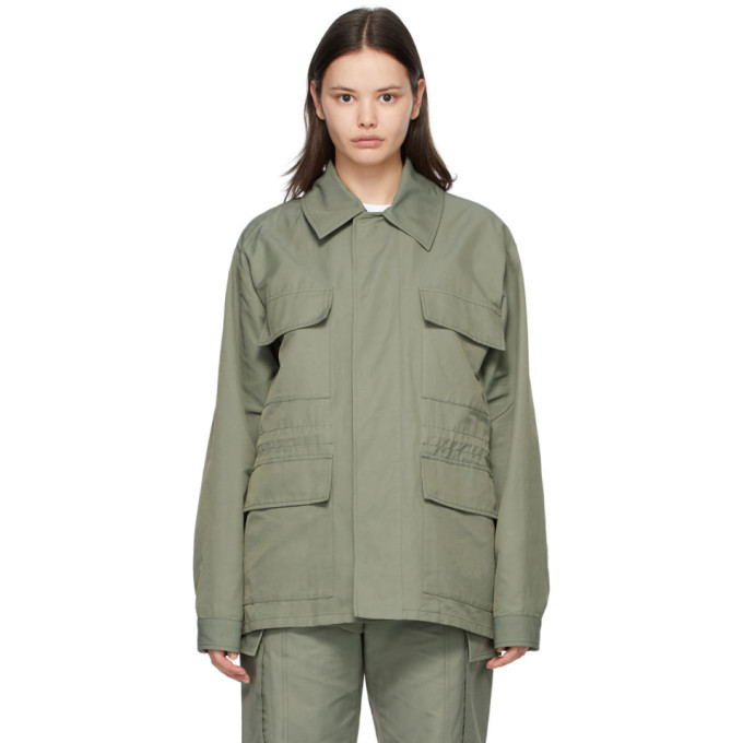 Stella Mccartney STELLA MCCARTNEY KHAKI SHARED 23 OBS JACKET