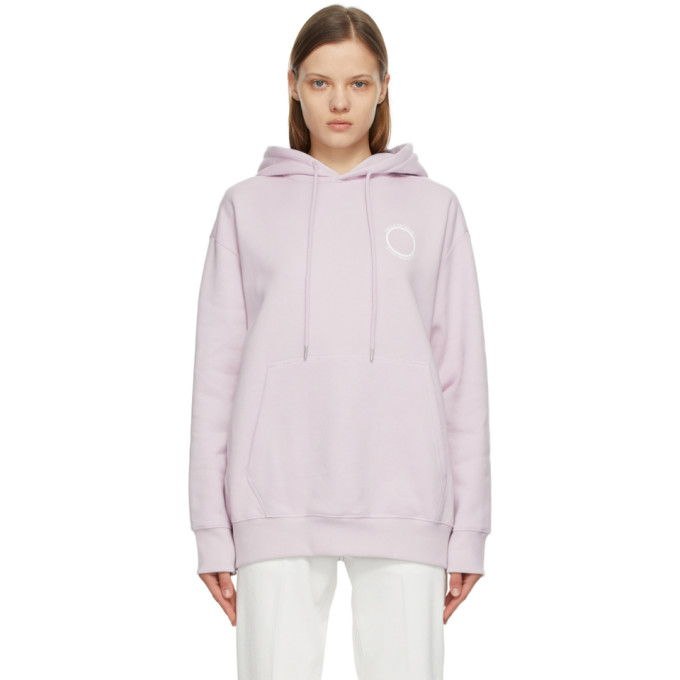 Stella Mccartney STELLA MCCARTNEY PURPLE 23 OBS HOODIE