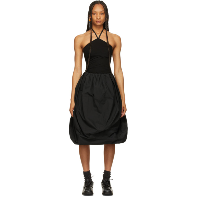 Jw Anderson Clothing JW ANDERSON BLACK BALLOON HEM DRESS
