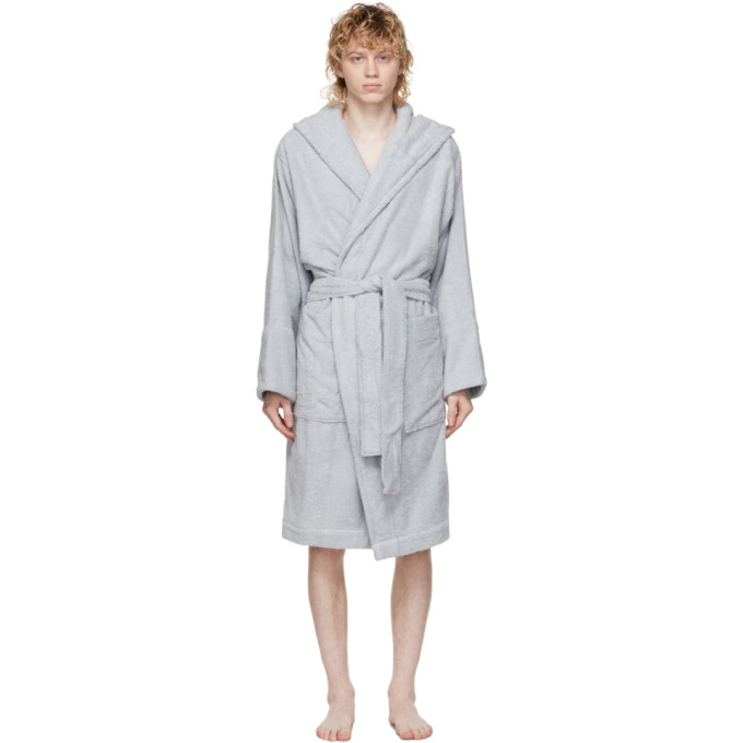 Tekla SSENSE 独家发售灰色有机棉浴袍