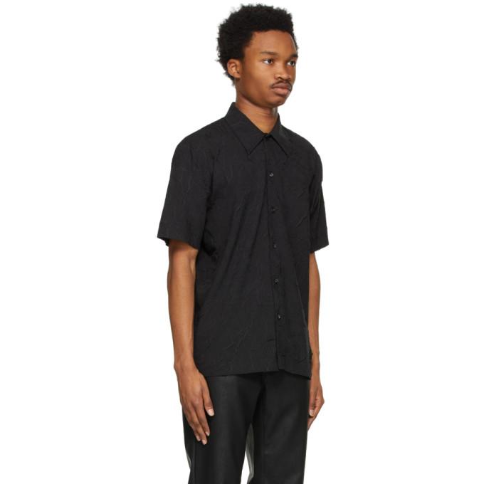 SÉFR Shirts SEFR BLACK SUNEHAM SHIRT