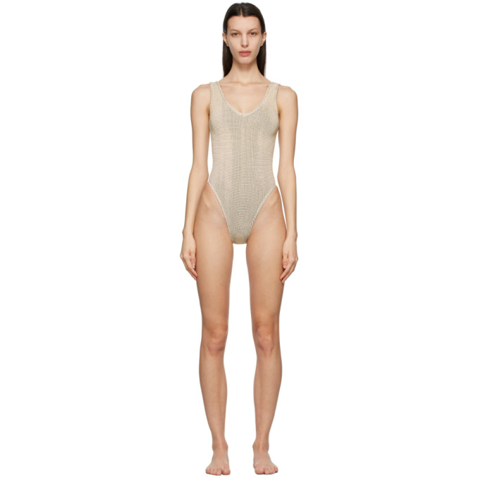 Bound By Bond-Eye One-pieces BOUND BY BOND-EYE YELLOW AND BLACK THE MARA ONE-PIECE SWIMSUIT
