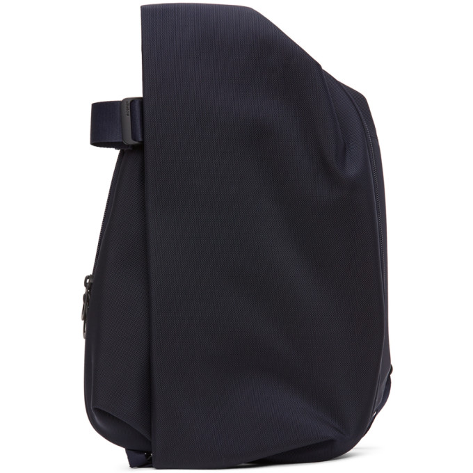 Côte And Ciel Cote And Ciel Navy Ballistic Isar M Backpack In Blue