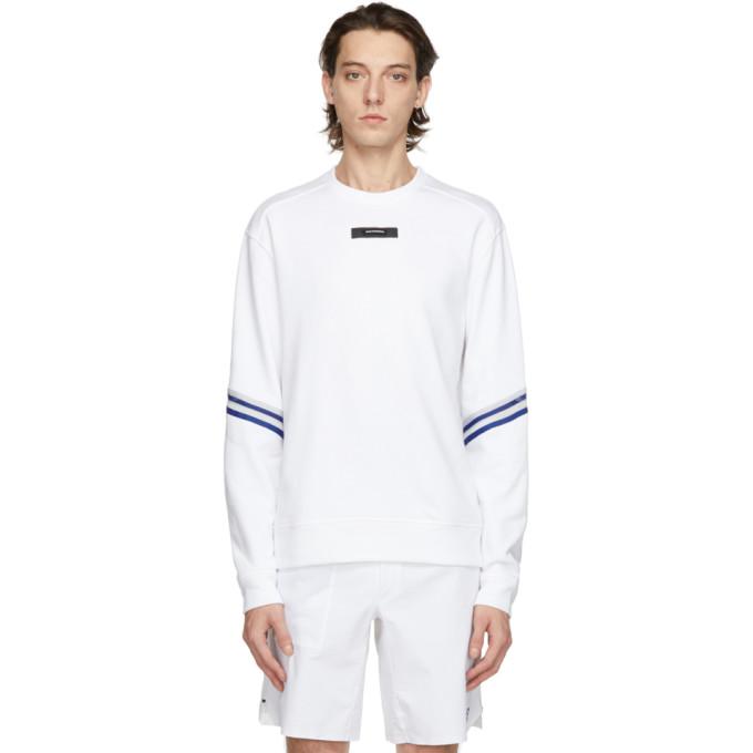 On Clubhouse コレクション ホワイト クルーネック スウェットシャツ
