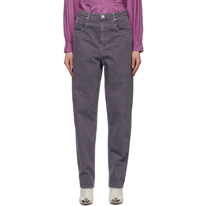 Isabel Marant Étoile Jeans ISABEL MARANT ETOILE PURPLE CORFY JEANS