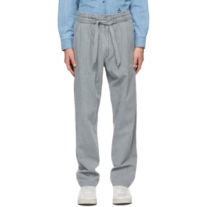 Isabel Marant Grey Muardo Trousers