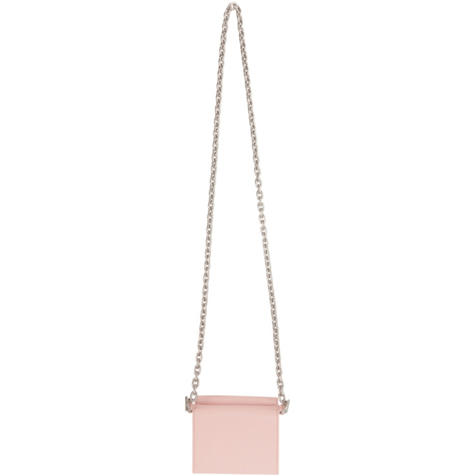 OFF-WHITE Wallets OFF-WHITE PINK JITNEY CHAIN WALLET