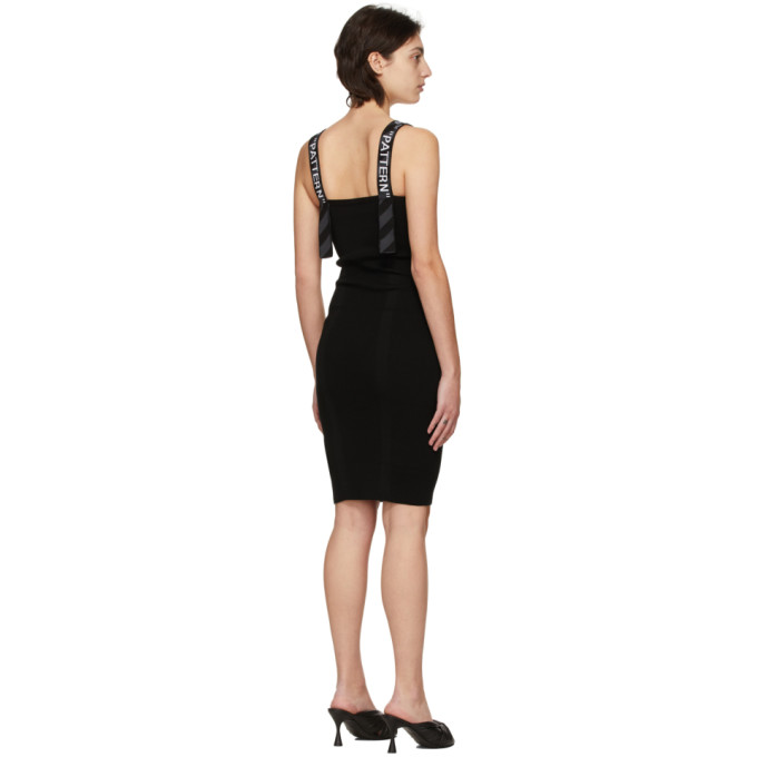 OFF-WHITE Dresses OFF-WHITE BLACK BOLD DRESS