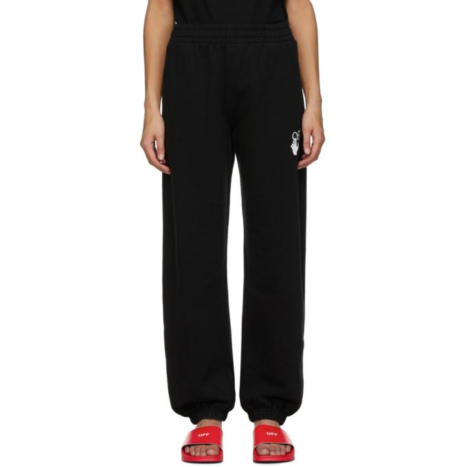 Off-White 黑色 Marker 运动裤