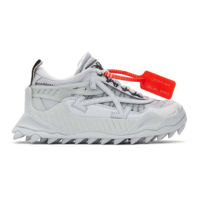 Off-White OFF-WHITE GREY ODSY-1000 SNEAKERS