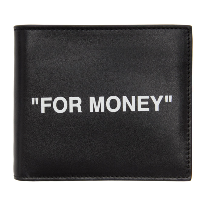 Off-White OFF-WHITE BLACK QUOTE WALLET