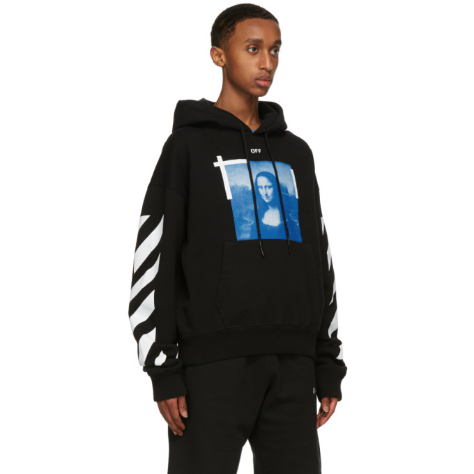 OFF-WHITE Cottons OFF-WHITE BLACK MONA LISA HOODIE