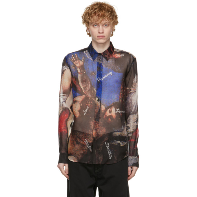 Soulland Clothing SOULLAND MULTICOLOR SILK HARRY SHIRT