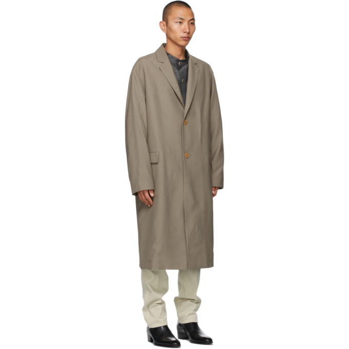 LEMAIRE Trenchcoats LEMAIRE TAUPE LIGHT SUIT COAT